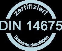 Zertifikat DIN14675